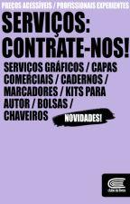 Serviços: contrate-nos! by Clubedelivros