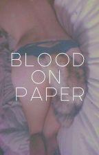 blood on paper ✧ ji.kook [oneshot] by poetdrugs