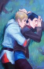 "MERTHUR ""Look at me."" by kingandlionheart_"