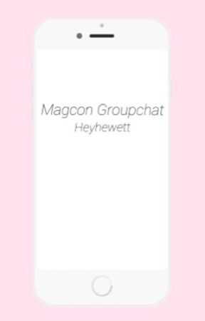 Magcon groupchat S.M. by catherinehewett