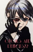 Ghouls and demons??  by animecrazzygirl
