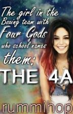 The girl in the Boxing team with Four Gods who school names them THE 4A by rummihop