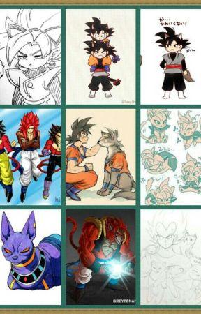 Animal! Dragon Ball X Reader One-Shots (Requests Closed) - SSJ4 Goku