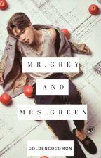 Mr. Grey & Mrs. Green /  BTS JIMIN by Goldencocomon