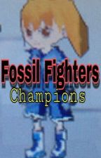 Rubert X Dina. Fossil Fighters: Champions. by MeMeQueen101UT