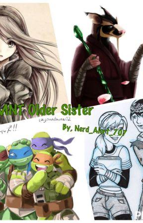 TMNT older sister by Nerd_Alert_707