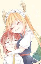Tohru & Kobayashi [Yuri o Futa] by AngeCA96