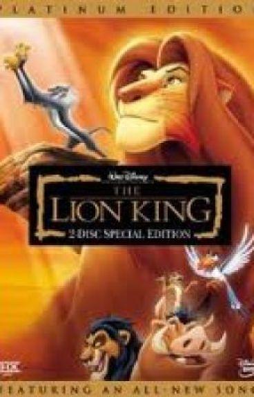Lion king script. by charliebryan13