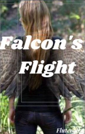 Falcon's Flight  by AReadingFluteCat