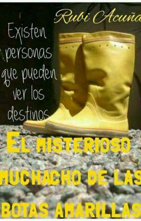 El misterioso muchacho de las botas amarillas by RubiCarolinaAcuaHera