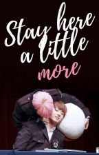Stay here a little more + jikook by jikxxk