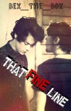 That Fine Line (Larry AU) by bex_the_box