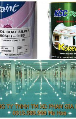Sơn epoxy chống hóa chất, chịu lực tốt tại Hà Nội giá rẻ