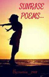 Sunrise Poems... by sunrise_2901