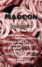 Magcon Imagines (#Wattys2018) by yunalovestaddl