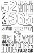 365 Días by amor_verdadero1017