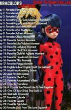 Miraculous Ladybug 30 day tv show challenge  by RosabellaSwan