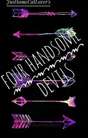 Four Handsome Devils by DefinitelyNotADude