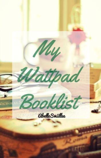 My Wattpad Booklist