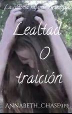 La última hija de Artemisa- Lealtad o traición. by justawriter919