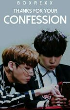 Thanks for your confession   ✏   SuKook.   [T E R M I N A D A] [E D I T A N D O] by boxrexx