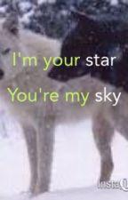 I'm your star, you're my sky by amazeballz_