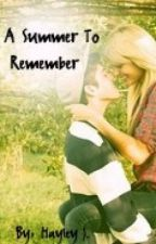 Niall Horan Love Story: A Summer To Remember by hayleyrox101