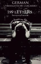 199 Letters by Cupcaribo