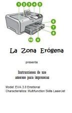 La Zona Erógena -Instrucciones de uso amoroso para impresoras- by FVillalba