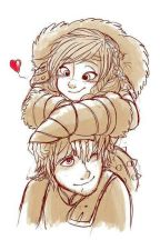 Hiccup and Astrid by BlackRose245
