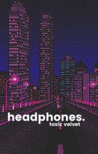 headphones | 김태형 by toxicvelvet