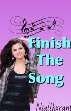 Finish The Song by niallhxranbun
