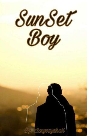 Sunset Boy by IzzySaysHaii