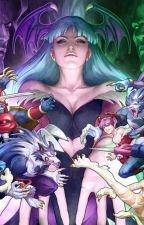 Black Lantern Male Reader x Darkstalkers by OmegaNexus52