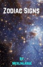 Zodiac Signs by Merlinlarue