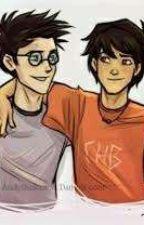 Harry Potter lendo Percy Jackson - PJO e HDO by May_Jackson_Potter