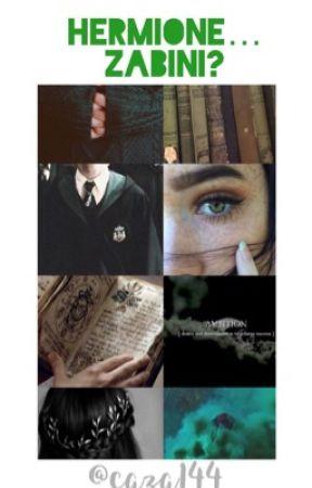 Hermione...Zabini? by caza144