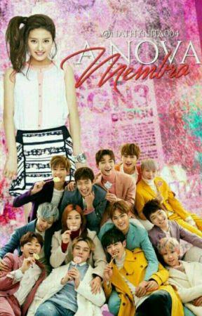 A Nova Membro- Seventeen by Nathynita004