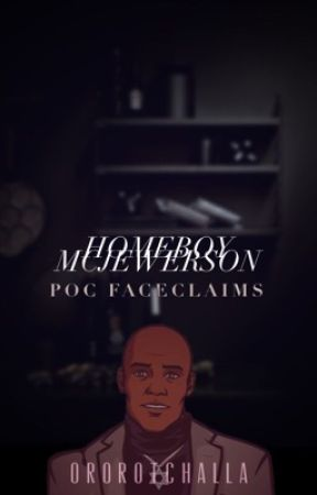 HOMEBOY MCJEWERSON   poc faceclaims by ororotchalla