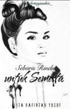 Sebaris Rindu untuk Semesta by ladylotusjunkie_