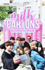 milk cartons ; bts by yesternights