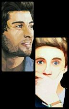 Bathroom ~ Ziall by _ScarsAreForever