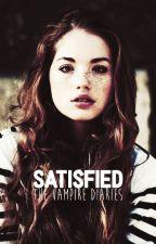 Satisfied    The Vampire Diaries by ohsomarauders