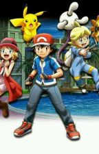 La aventura pokemon  by pasarelrato7