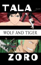 Wolf and tiger by MatteSe3