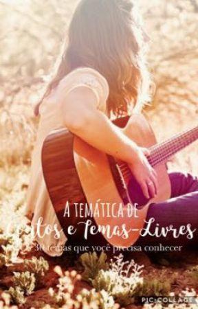 A Temática de Contos e Temas-Livres by TatiannaRaquel