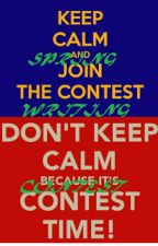 Spring Writing Contest  by MJPAPieceOfMe