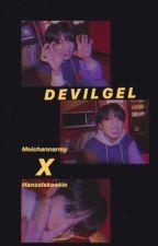 DEVILGEL // YOONKOOK  by hansolskookie