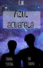 Azul acuarela *[SeXing] by CarelessNine