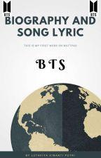 Biodata dan Lirik Lagu BTS by Luthfiya_Putri
